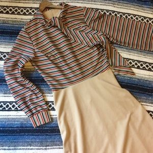 Vintage 70s Sears Secretary Dress